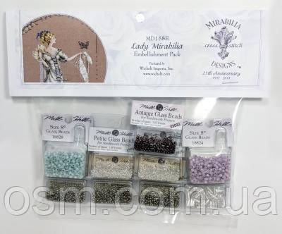 Lady Mirabilia Mirabilia Designs Mill Hill Embellishment Pack