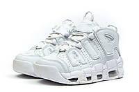 Мужские кроссовки Найк Air More Uptempo White Реплика, фото 1
