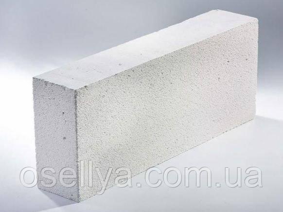 Будівельні блоки стінові з ячеїстого бетону (625х150х250)