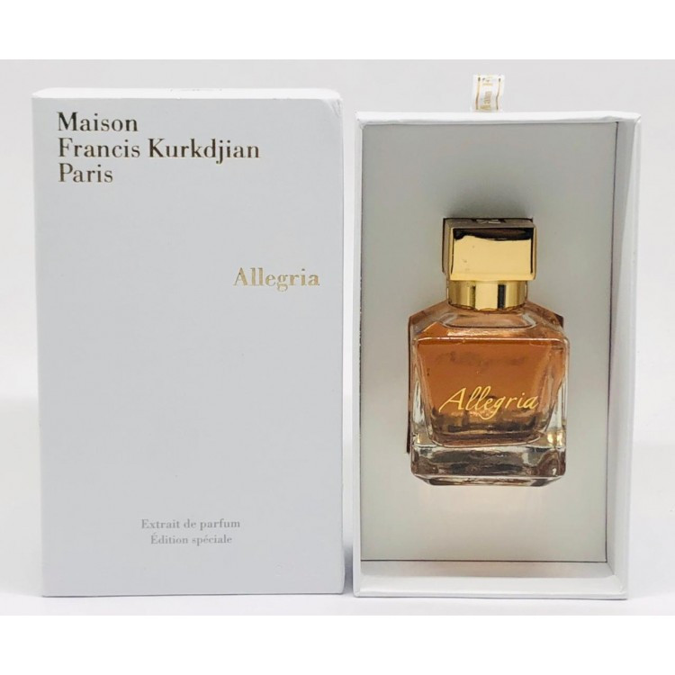 Maison Francis Kurkdjian Allegria (Мейсон Френсис Куркджан Аллегрия) парфюмированная вода, 70 ml