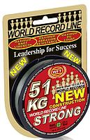 Шнур WFT KG Strong Green Round Braid 300 м 0.32 мм 51 кг (30441332) Germany