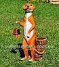 Садовая фигура Суслики друзья, фото 4