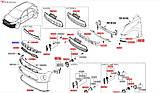 Накладка решетки радиатора, KIA Stonic 2017-, 86353h8400, фото 5