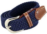 Ремень детский TRAUM 8821-47, плетенный, синий