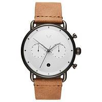 Часы мужские MVMT BLACKTOP CHECKER WHITE CARAMEL 47MM