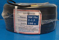 Мідний кабель ВВГ-П нг 2*1,5 Меганом