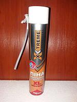 Піна монтажна X-TREME 750мл 45л. XL--800гр Extra Large