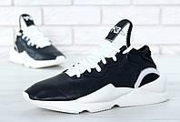Кроссовки Adidas Yohji Yamamoto Y-3 Kaiwa Black (реплика), фото 1