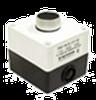 Пост кнопочный LAY5/1, стоп красный, IP54, CNC