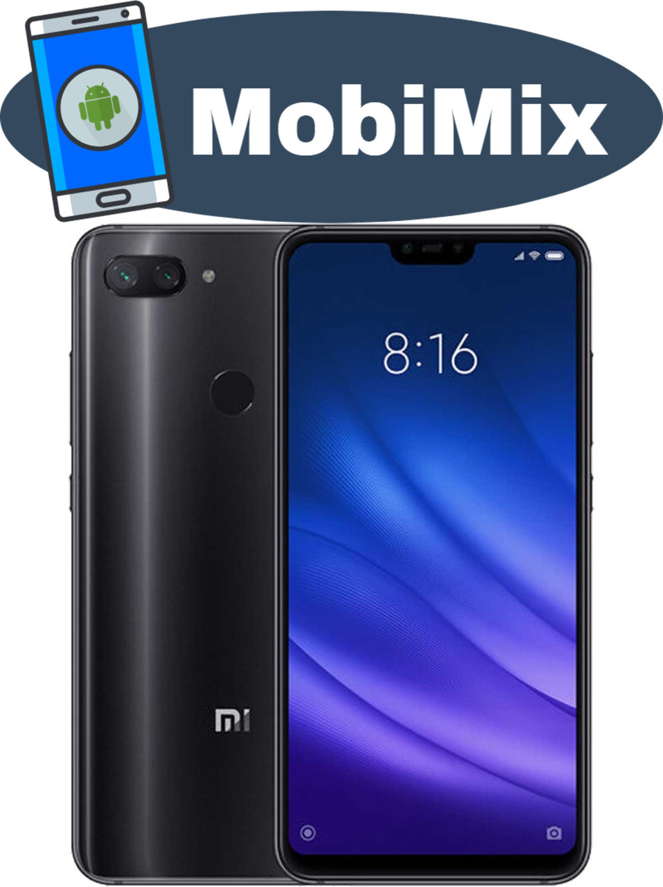 Xiaomi Mi 8 Lite 6/128GB  Black Global