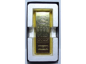 Зажигалка настольная - слиток золота ZK7-38, фото 2