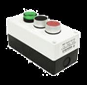 Пост кнопочный LAY5/3, зеленая, красная, черная, IP54, CNC