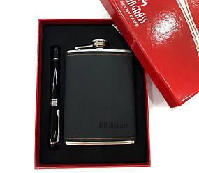 Набор фляга с ручкой (черный)