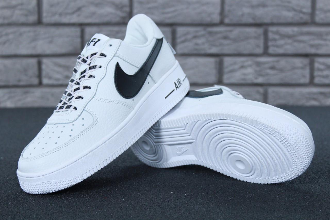7072f78f Белые мужские кеды Nike Air Force 1 Low NBA, мужские кеды найк аир форс 1