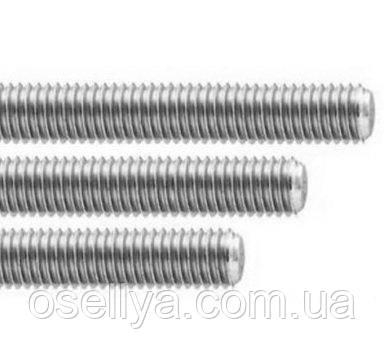 Шпилька стальна з різьбою 6х1000