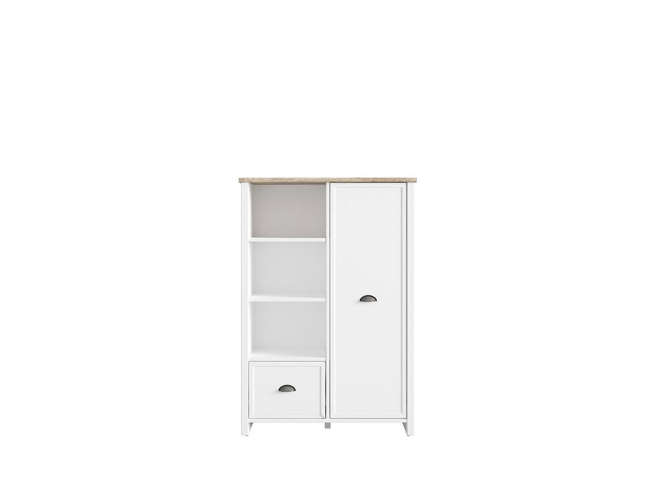 Книжный шкаф Cannet REG1D1S (BRW)