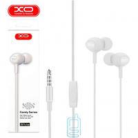 Наушники с микрофоном XO S6 белые
