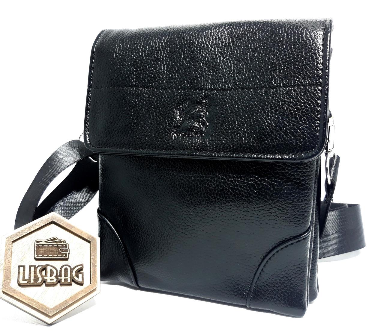 1676007e9dff Мужская Мини сумка планшетка Gorangd Черного цвета для ежедневного  использования , стильная и практичная