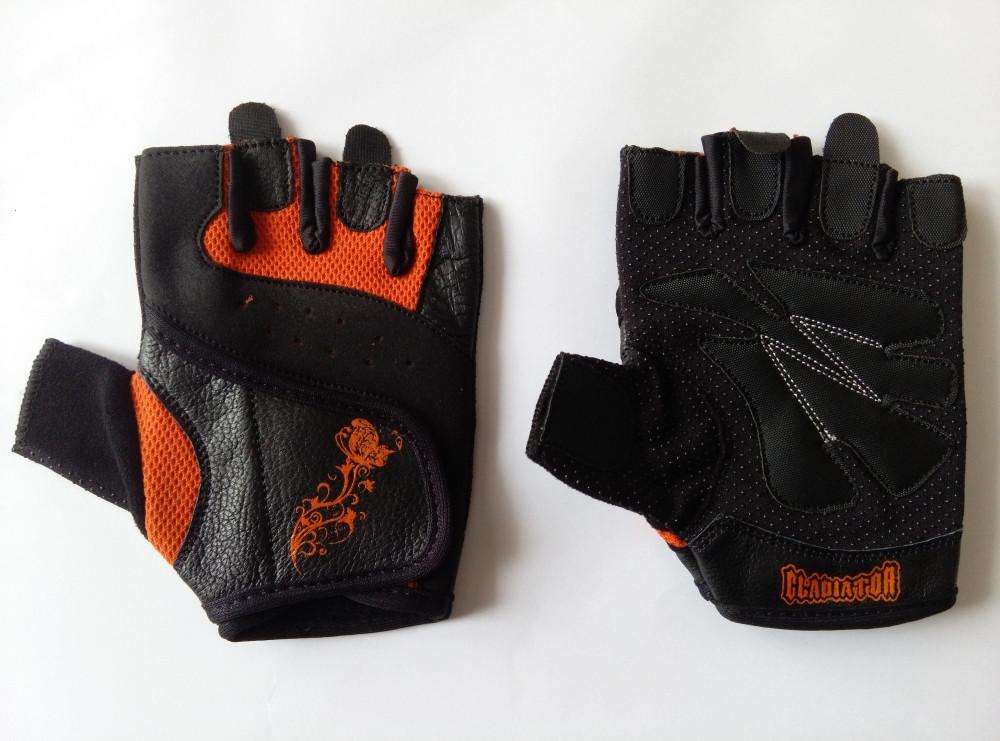 Перчатки мужские Womens Gloves GL-152C Black/orange размер XS
