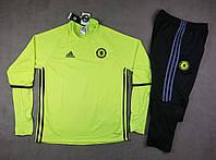 Тренировочный костюм Челси салатовый