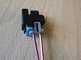 Колодка Lanos разъем проводки Ланос №11а форсунки нового образца, фото 3