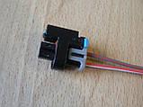Колодка Lanos разъем проводки Ланос №11а форсунки нового образца, фото 7