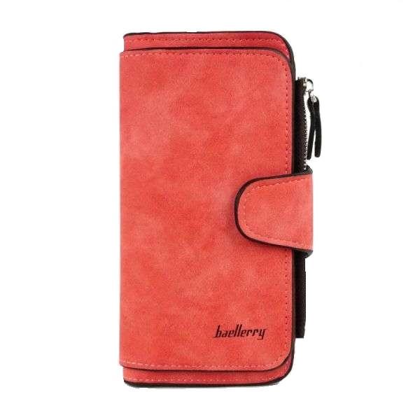 Женский кошелек Baellerry N2345 Night Red, портмоне цвет красный. Оригинал
