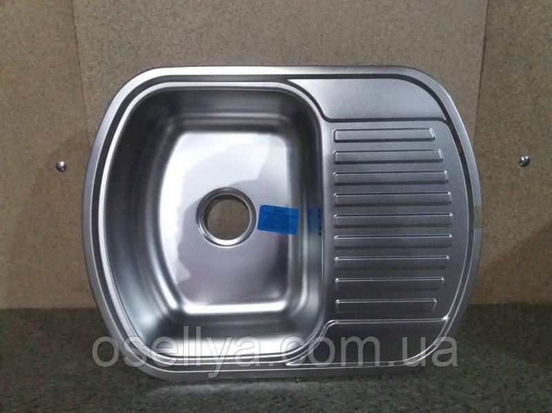 """Мийка """"Kraft"""" S6349AD (0,6/180) декор"""