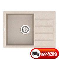 Кухонная мойка Vankor Easy EMP 02.62 Beige 62*44