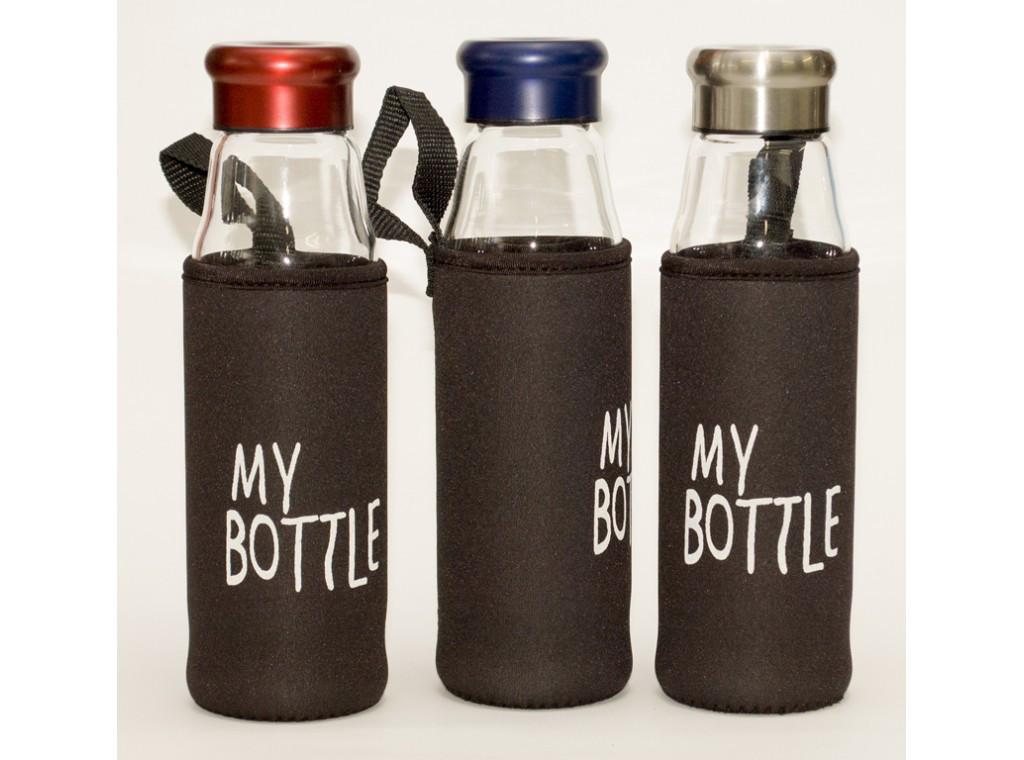 T92-3 Бутылка стекло 550 мл + чехол