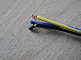 Колодка Lanos роз'єм проводки Ланос №20 датчика абсолютного тиску на 3 контакту з проводами зелена, фото 4