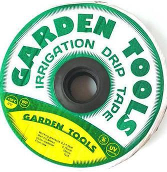 Капельная лента щелевая Garden Tools 500м 7mil, расстояние капельниц 30 см.