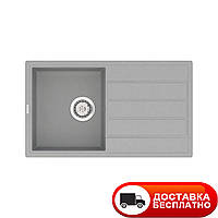 Гранитная мойка Vankor Easy EMP 02.76 Gray 76*44