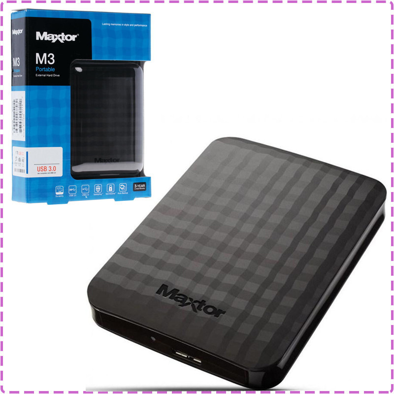 Внешний жесткий диск 2 Tb / 2000 Gb Seagate (Maxtor), USB 3.0, 5400 rpm (STSHX-M201TCBM), 2 Тб / 2000 Гб