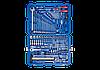 """Набор инструментов универсальный 128 ед. 1/4""""+1/2"""" с обычными трещотками King Tony 7528MR01"""
