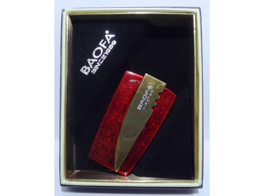 Подарочная зажигалка BAOFA PZ15101