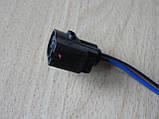 Колодка Lanos разъем проводки Ланос мотора омывателя на 2 контакта с проводами, фото 2