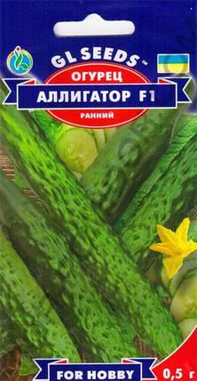 Огурец Аллигатор F1, пакет 0,5г - Семена огурцов, фото 2