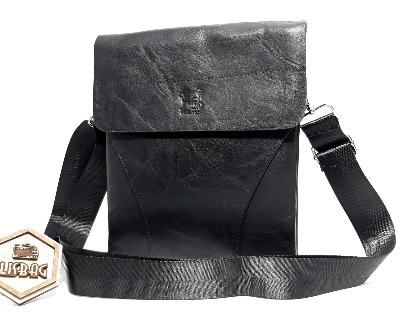 1d0fc816d780 Мужская повседневная стильная сумка планшетка\барсетка Gorangd на 2  отделения , фото 2 ...