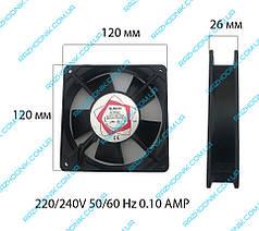 Вентилятор (Кулер) для зварювального апарату 220 V (120x120x26)