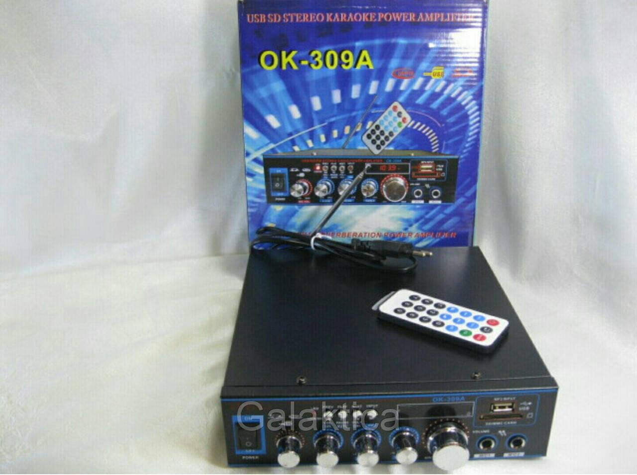 Усилитель звука Черный ОК-309А