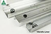 Направляющий профиль звукоизоляционный Vibrofix Liner 50/3м. 0.55мм