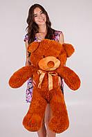 Метровый мишка Тедди коричневый