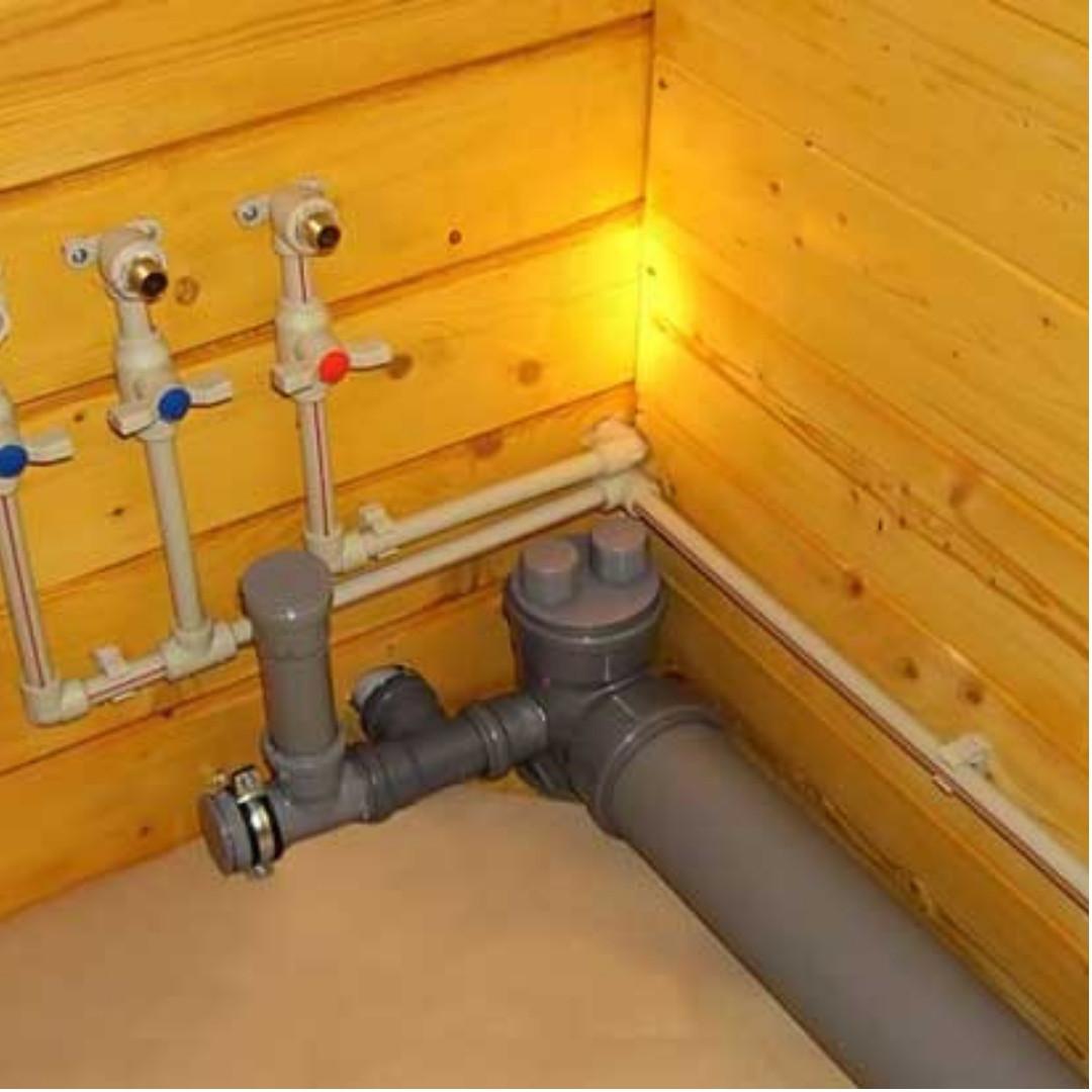 Монтаж наружных и внутренних сетей водоснабжения