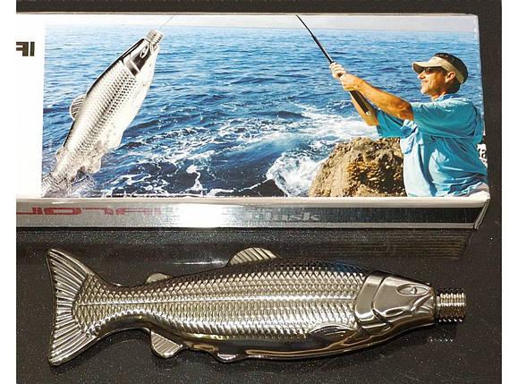 Фляга рыба малая 250 мл F1-49 , фото 2