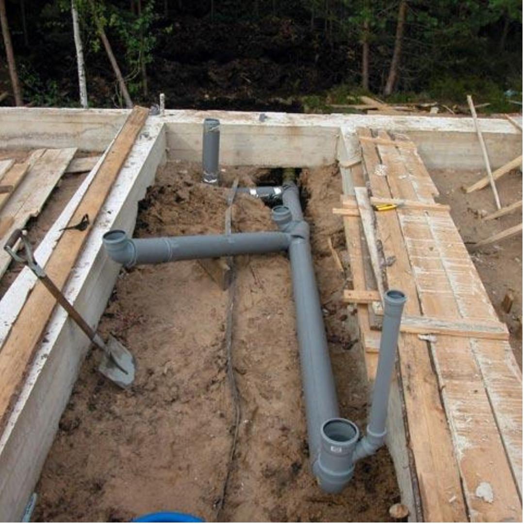 Монтаж мереж водопроводу та каналізації