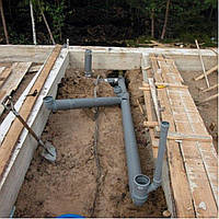 Монтаж мереж водопроводу та каналізації, фото 1