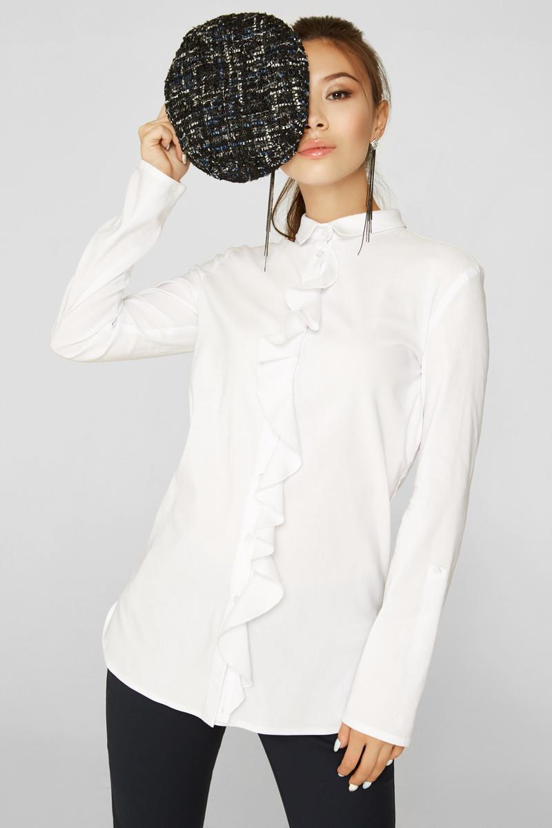 2152 блуза Авалон, белый (42)