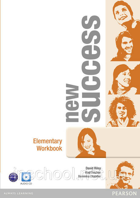 New Success Elementary Workbook (with Audio CD) ISBN: 9781408297094