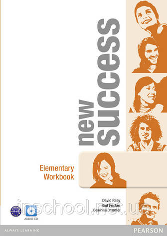 New Success Elementary Workbook (with Audio CD) ISBN: 9781408297094, фото 2